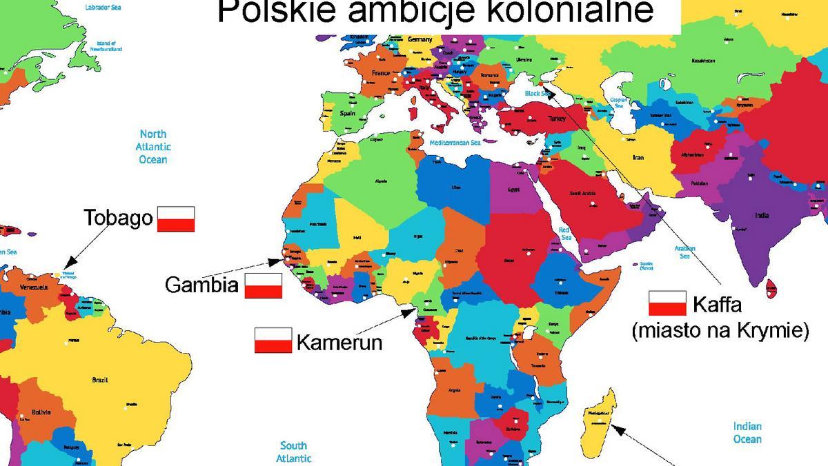 Kolonia niemcy europy mapa Kolonia