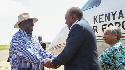 Uhuru Explains Raila's Role in his Govt While in Kisumu