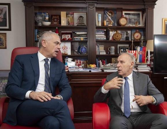 Zvezdan Terzić i Dragan Džajić