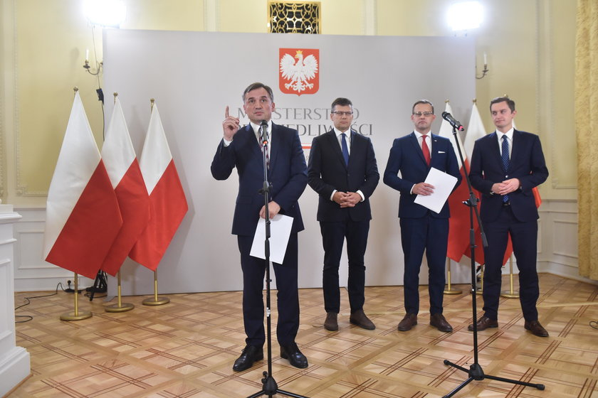 Zbigniew Ziobro i jego ekipa