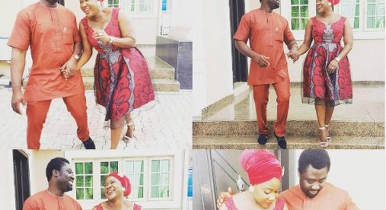 Mercy Johnson and hubby, Prince Okojie