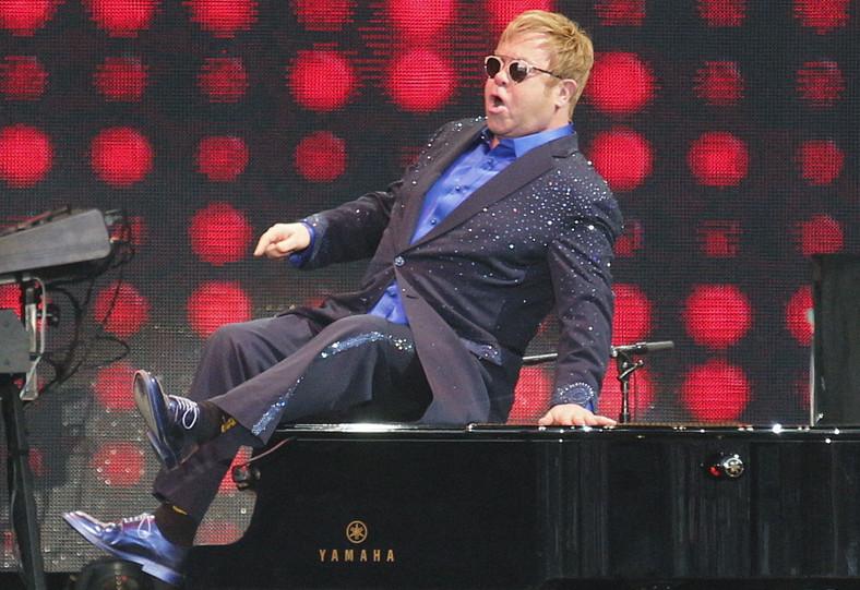 Elton John gwiazdąLife Festival Oświęcim 2016