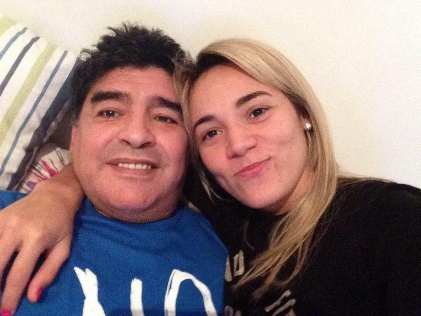 Oto kochanki starego i młodego Maradony. Która ładniejsza?
