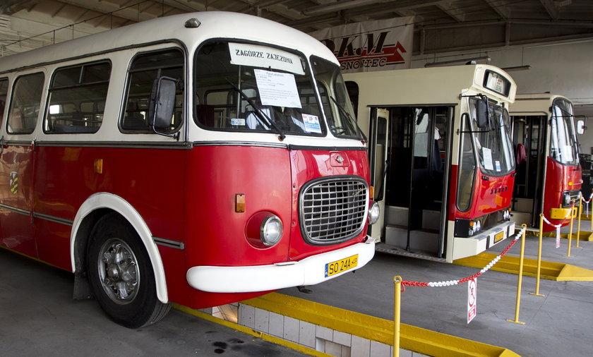 Muzeum starych autobusów w Będzinie