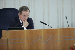 Pęk: Wniosek o uchylenie immunitetu Grodzkiemu jest trzeci miesiąc przetrzymywany w biurku Borusewicza