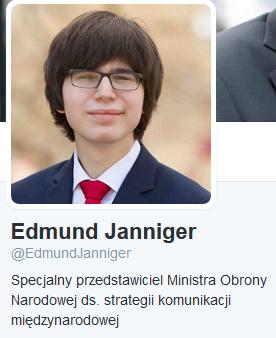 Edmund Janniger ma nową funkcję w MON