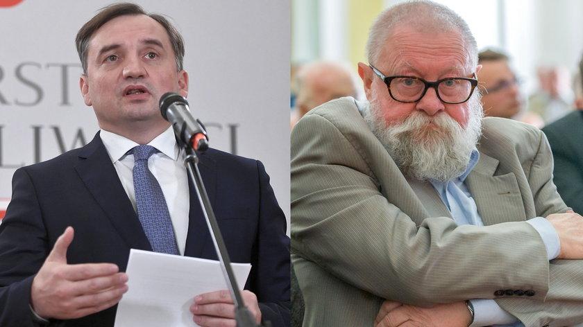 Zbigniew Ziobro (50 l.) namawia premiera do zajęcia twardego stanowiska wobec Unii Europejskiej