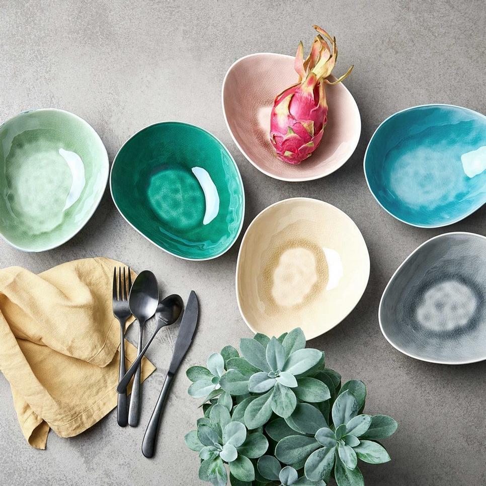 Mit szólnál egy tavaszi színekben pompázó étkészlethez? DE LA ROYA étkészlet