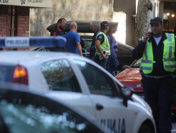 Policija je obavila uviđaj, a osumnjičeni za napad su dali izjave