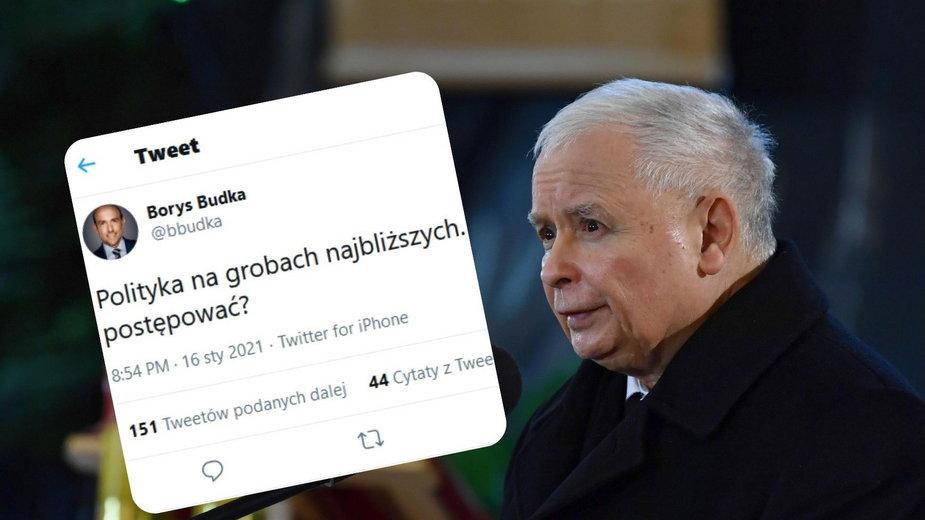 Polityczne przemówienie Jarosława Kaczyńskiego w kościele. W sieci zawrzało