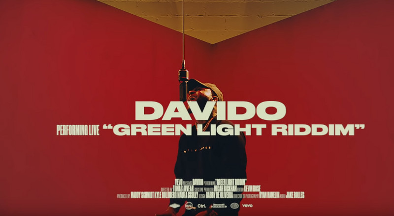 Watch Davido perform 'Intro' to 'A Good Time' and 'Green Light Riddim' on Vevo CTRL [Video]
