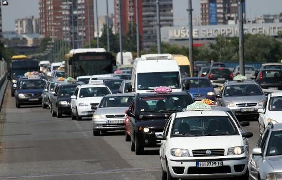 I taksisti imaju dosta posla