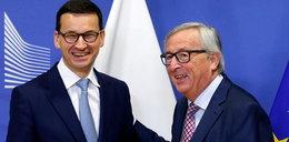 Spotkanie premiera Morawieckiego z szefem Komisji Europejskiej