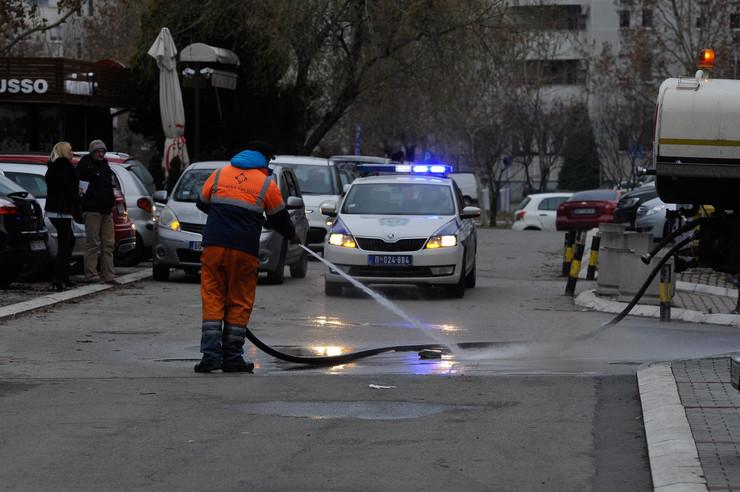 vozač jkp gradska čistoća pregazio ženu