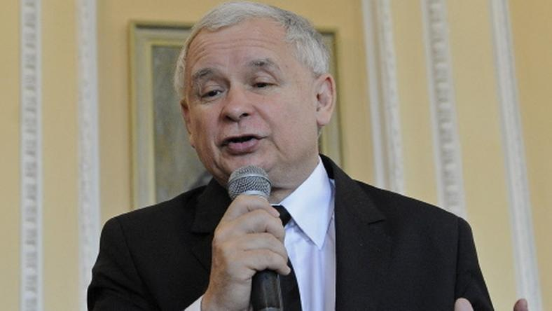 Jarosław Kaczyński, fot. AFP
