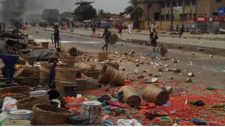 Hausa and Yoruba traders clash at Ile-Epo market (Punch)