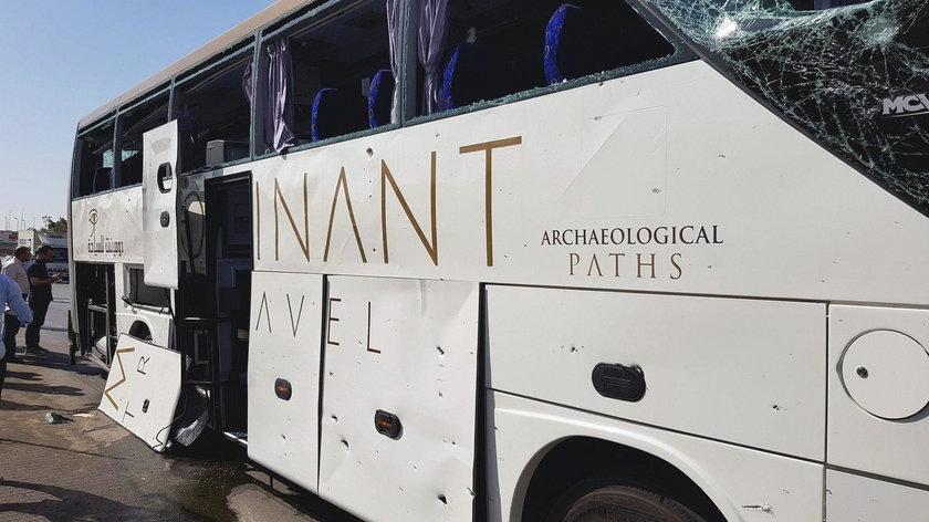 Eksplozja autokaru z turystami w Egipcie