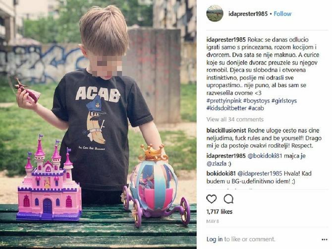 Sin joj se dva sata igrao roze kočijom: Ova mama nas je podsetila na VAŽNU STVAR u odgajanju dece, a psiholozi potvrđuju