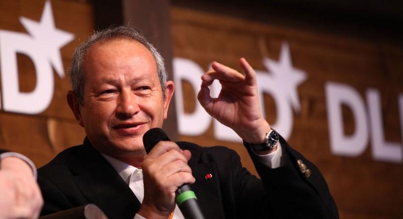 Billionaire Egyptian businessman, Naguib Sawiris