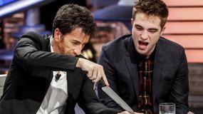 Robert Pattinson spróbował krwi hiszpańskiego dziennikarza