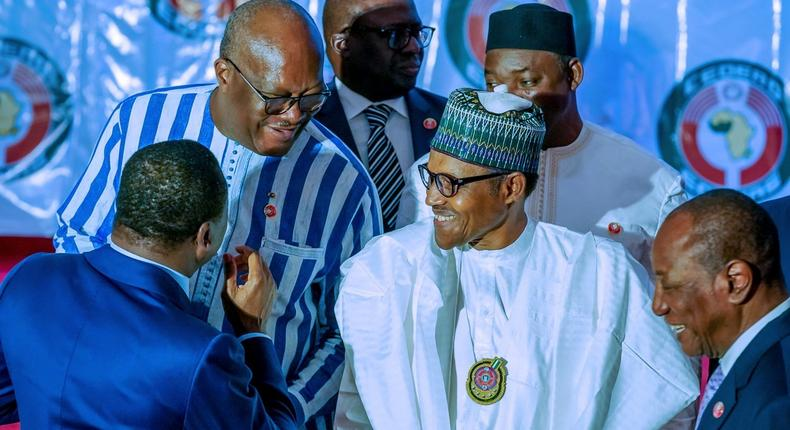 Buhari holds bilateral talks with African leaders as ECOWAS commences 56th Session1
