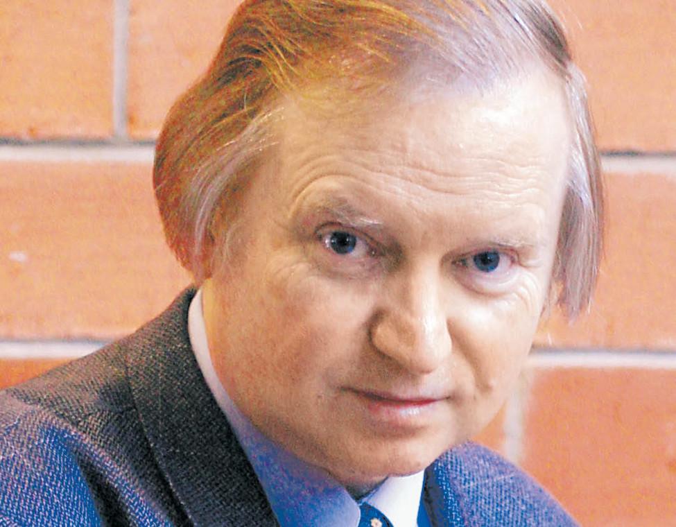 Ryszard Piotrowski - prawnik konstytucjonalista, profesor Uniwersytetu Warszawskiego  fot. Wojtek Górski