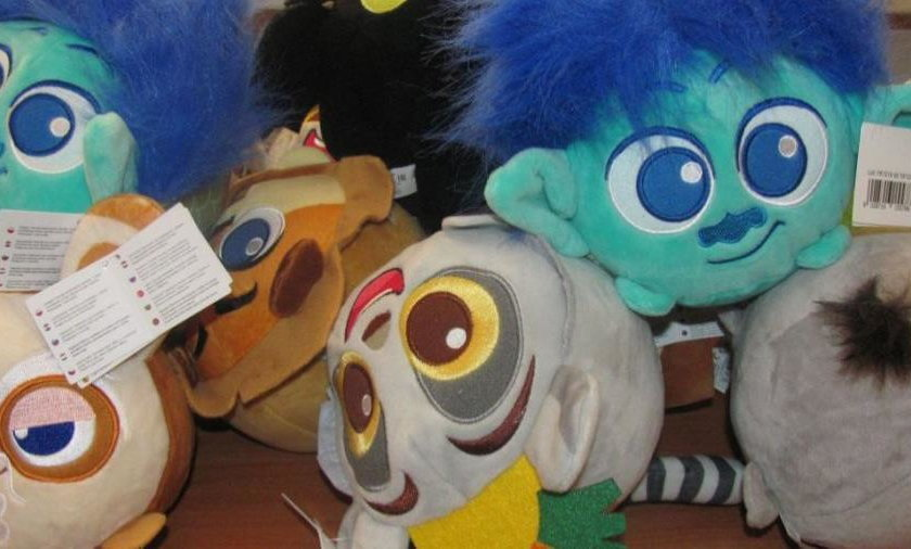 Maskotki odzyskane przez policję