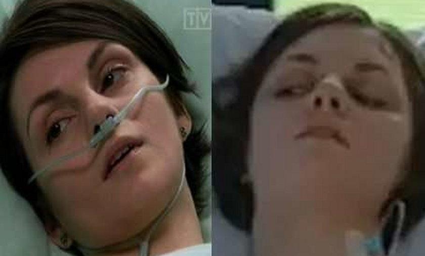 Aktorka umierająca w dwóch serialach jednocześnie!