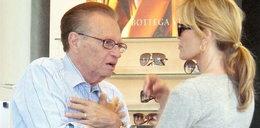 Larry King dba o młodszą żonę