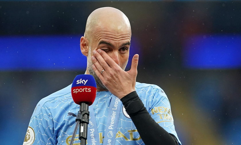 Pep Guardiola nie wytrzymał emocjonalnie i popłakał się, gdy zaczął mówić o Sergio Aguerze