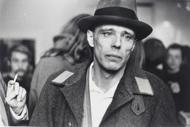 Jozef Bojs na Likovnoj akademiji u Diseldorfu 1972.