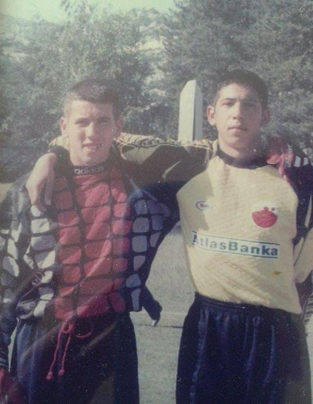 Veljko i Boban Bajković kao dečaci