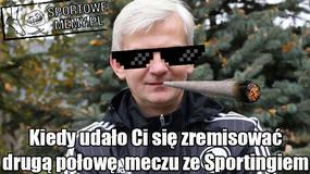 Liga Mistrzów: Legia Warszawa przegrała ze Sportingiem Lizbona 0:2 - memy po meczu