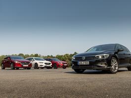 Nowy Volkswagen Passat kombi kontra Mazda 6, Kia Optima i Opel Insignia - czy nadal jest najlepszym wyborem?