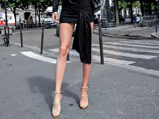 Pariz je zanemeo kad se ONA pojavila: Naša glumica u prekratkoj haljini pokazala NAJBOLJE NOGE Beograda