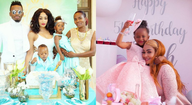 Umezidi, Subiri Urogwe- Zari tells Diamond's mother over sharing her daughter's photos