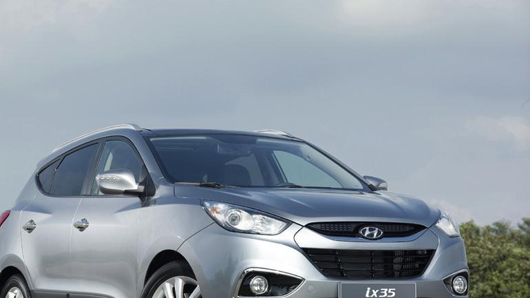 Hyundai ix35 - Najmniejszy z serii x
