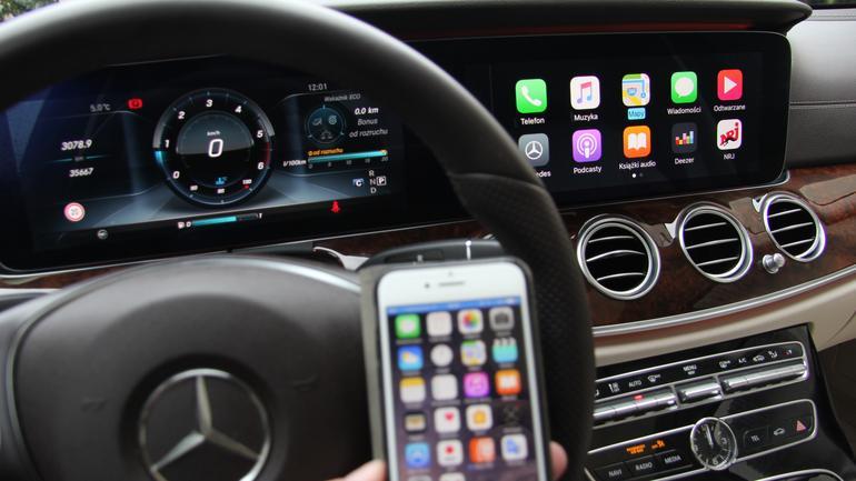 CarPlay czyli iPhone w samochodzie