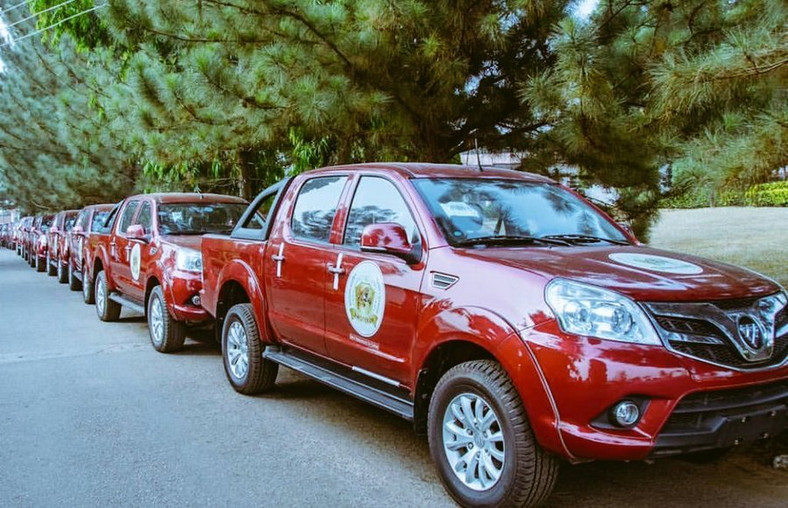 Amotekun vehicles were all reportedly procured from local car maker Innoson (Oyo state govt)