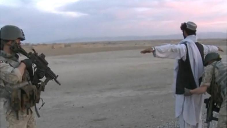 Tak nasi żołnierze walczą z talibami