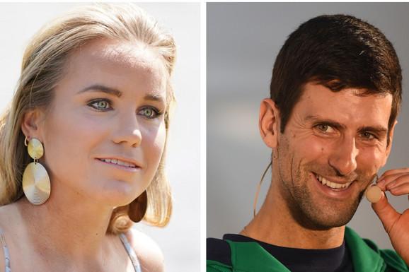 """""""SVE TE LEPE SLIKE MENE I ĐOKOVIĆA..."""" Šampionka Australijan opena: PRIZNAJEM! Trebao mi je izgovor da Novaku pošaljem poruku!"""