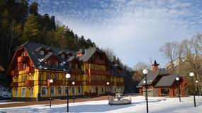 Słowacja - uzdrowisko Smerdžonka w Czerwonym Klasztorze