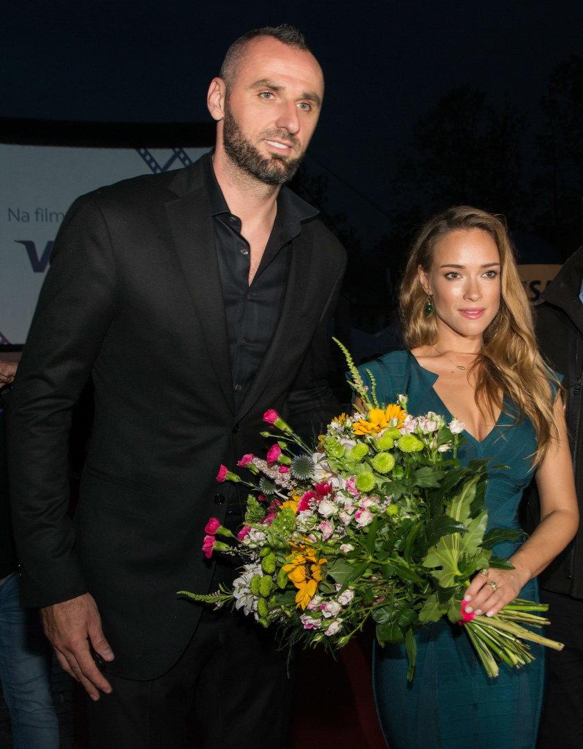 Marcin Gortat i Alicja Bachleda Curuś