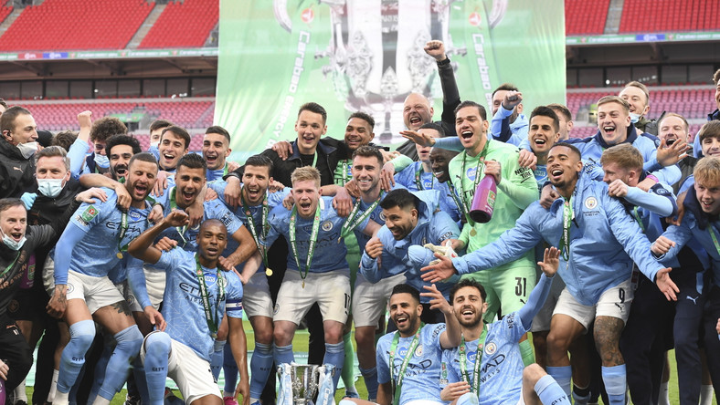 Manchester City z pucharem