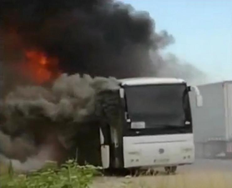 CACAK01 Autobus istog autoprevoznika zapalio se i u junu - foto Privatna arhiva
