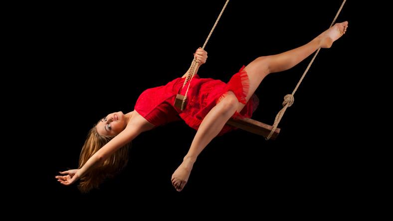 Gimnastyczka/artystka cyrkowa