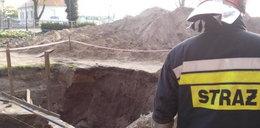 Przysypana archeolog oddycha samodzielnie
