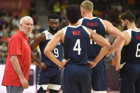 Greg Popović i košarkaška reprezentacija SAD