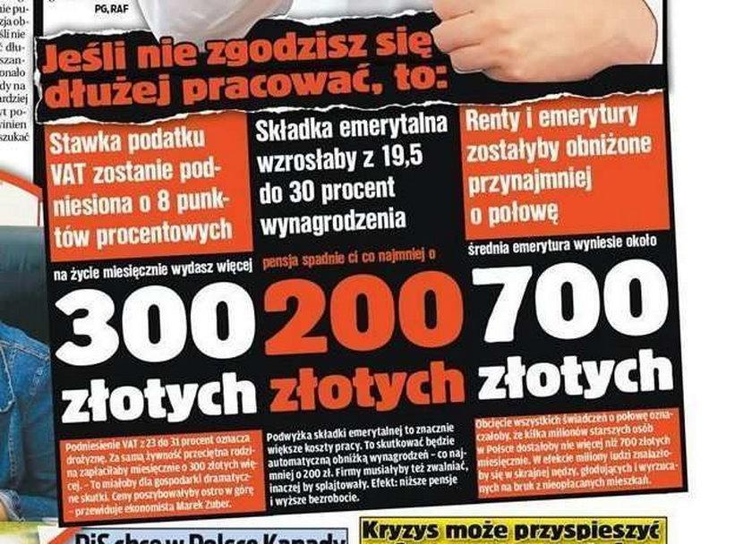 Tak Tusk straszy Polaków. Boisz się?