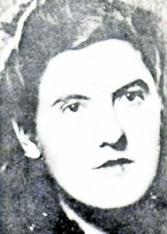 Jelena Ćetković, sekretar Mesnog komiteta KPJ